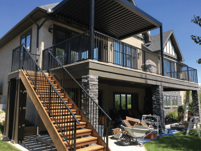 McLean Railings - outdoor railings